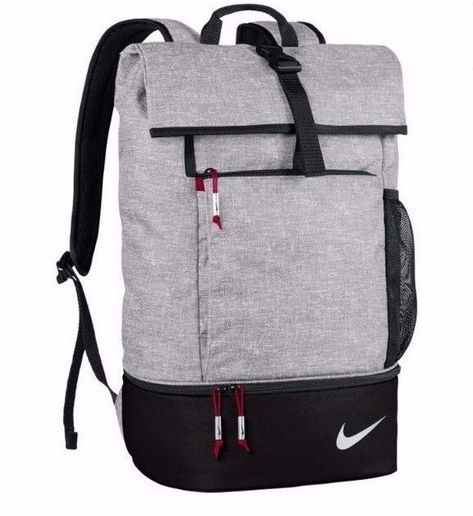 8981e2a64d Nike Shoe Bag Authentic Sports Backpack Gray Mesh for Football/Tennis  GA0262 #NikeGolf #Backpack