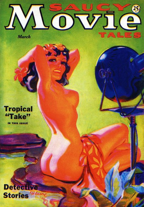 Saucy Movie Tales: 'Tropical Take'.