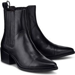 Chelsea Boots Fur Damen In 2020 Stiefel Leder Und Schwarz