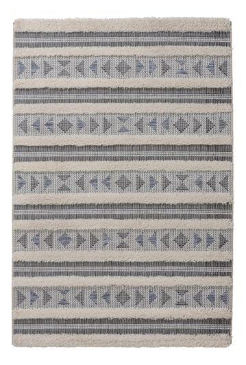 tapis berbere tetouan gris deco loft