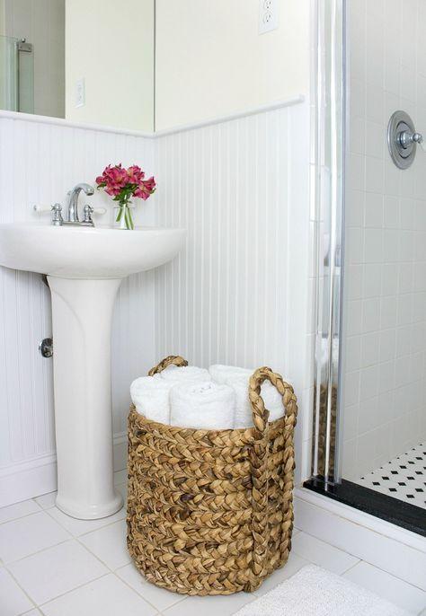 Bathroom Baskets, Towel Basket Bathroom
