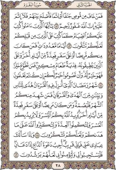 سورة البقرة مكتوبة كامله بفضل الله Quran Quran Verses Quran Translation