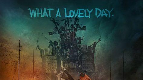 HD wallpaper: people standing on speakers digital wallpaper, Mad Max: Fury Road