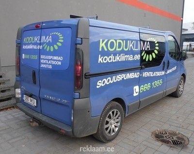 Auto Kleebisreklaam Autokleebised With Images Vans