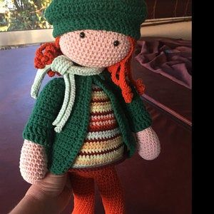 Crochet Pattern For Doll Joya Pdf Deutsch English Nederlands