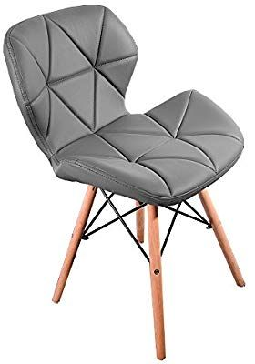 Newzeal Eiffel Style Dining Wooden Chairs Wood Legs Comfortable