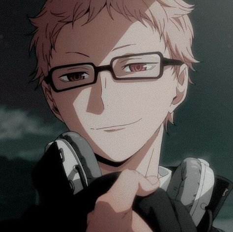 Anime Boys, Manga Anime, Art Anime, Anime Kunst, Cute Anime Guys, Anime Couples Manga, Haikyuu Tsukishima, Haikyuu Anime, Kageyama