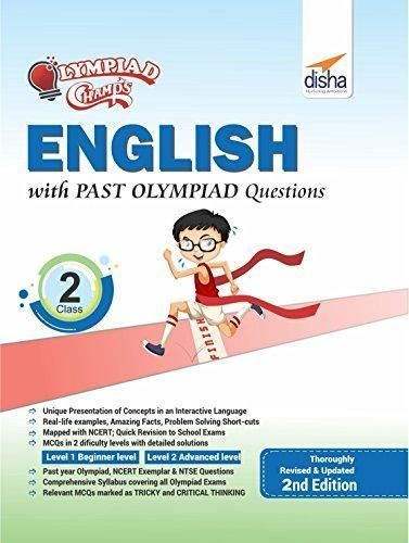 Class 2 English Olympiad book with previous year questions - Champs
