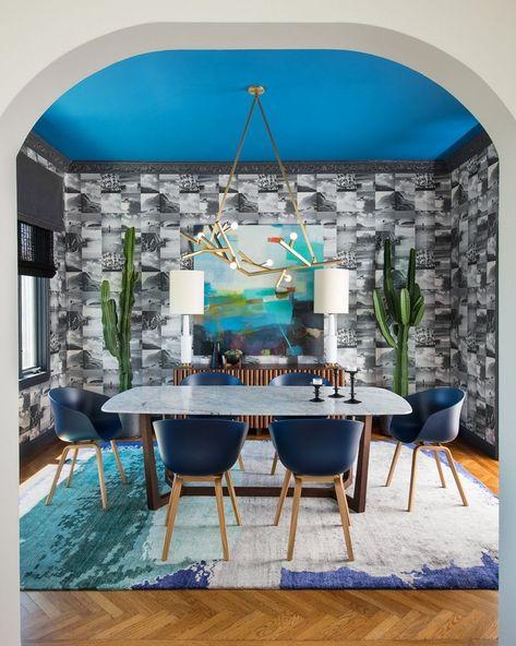 Geometrische Wandmuster Fur Ihr Zuhause Ideen Fur Wandgestaltung