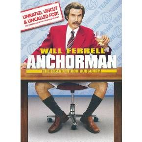 Anchorman The Legend Of Ron Burgundy Ws Unrated Uncut Uncalled For Dvd Video Target Ron Burgundy Anchorman Will Ferrell