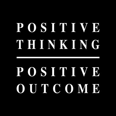 Positive Thinking by Threadway Apparel