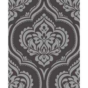 Magnolia Home By Joanna Gaines 34 Sq Ft Magnolia Home Willow Peel And Stick Wallpaper Psw1018rl The Hom In 2020 Feature Wallpaper Damask Wallpaper Washable Wallpaper