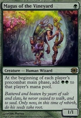 Magus Of The Vineyard Future Sight Modern Card Kingdom The Gathering Magic The Gathering Modern Card