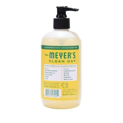 Mrs Meyer S Honeysuckle Liquid Hand Soap 12 5 Fl Oz Liquid