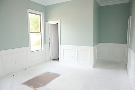 ben moore palladian blue - love the color for the guest room/future nursury!