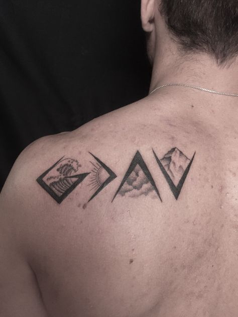 God is greater than my highs and lows #tattoos #religioustattoo #maletattoo