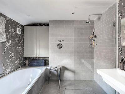 Gray Bathroom Ideas Interior Design Elegant 19 Inspirational Black And White Bathrooms Grey Bathrooms Gray Bathroom Decor Traditional Bathroom Black and gray bathroom decor