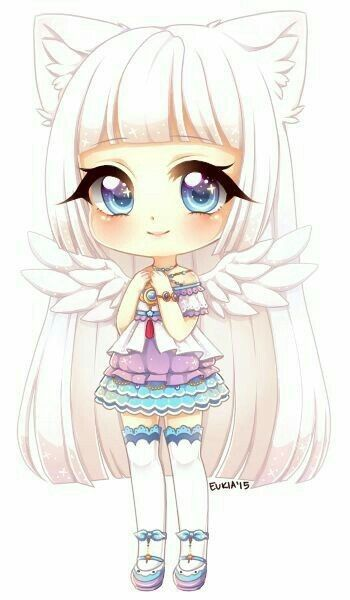 Little Angle Chibi Girl Drawings Cute Anime Chibi Kawaii Chibi