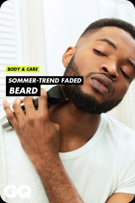 Sommer-Trend Faded Beard: So geht der perfekte Bart-Übergang
