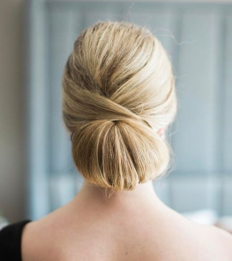 Chignon The Definition Of A Classic Formal Hairstyle Literally Never Goes Out Of Style Sarahbradshawphotog Bridesmaid Hair Formal Hairstyles Bun Hairstyles