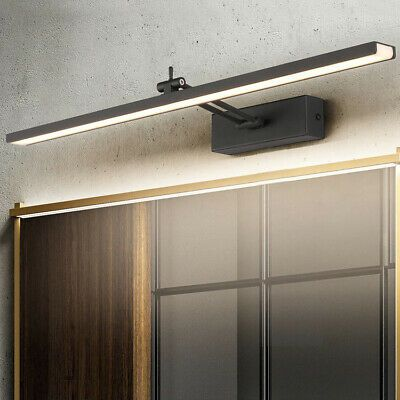 Details About Led Wall Mounted Light Makeup Mirror Front Lamp