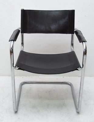 Leather Dining Chairs Mid Century Modern Set Of 6 Dining