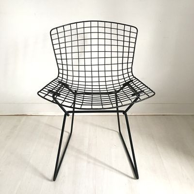 Vintage Chairs By Harry Bertoia For Knoll International 1960s Set Of 4 For Sale At Pamono Harry Bertoia Bertoia Vintage Chairs