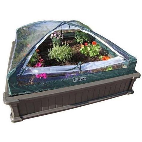 Lifetime Products 4 X 4 Raised Garden Kit Raised Garden Beds
