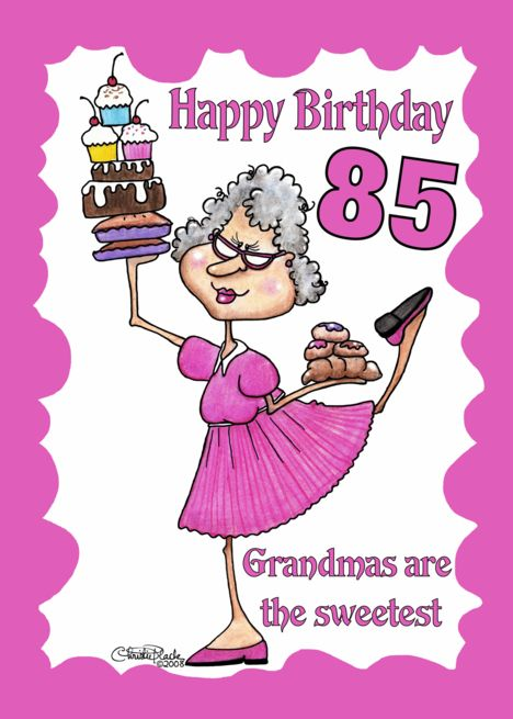 Granny Sweets 85th Birthday Card Ad Spon Sweets Granny Card Birthday Grandma Birthday Card Happy Birthday Grandma 70th Birthday Card