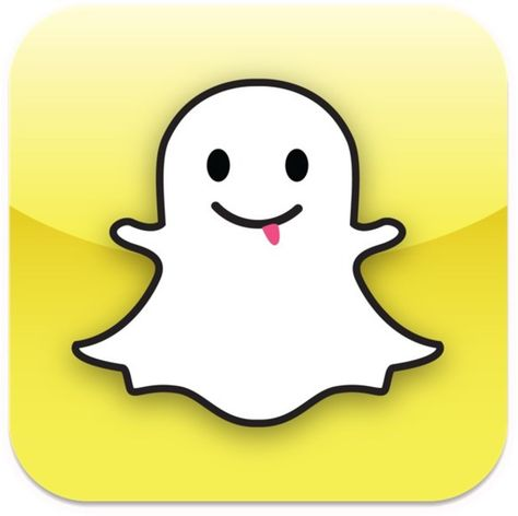 Snapchat logo. this is my second favorite. If i am bored and i am not on instagran i an usually on my snapchat. i snapchat my friends a lot and my cousin that lives in south Carolina. i send really stupid and ugly faces to them and they do the same to me. i also send videos of my sister singing sometimes.