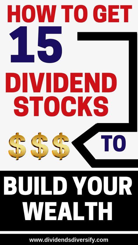 Dividend Stocks – Dividends Diversify
