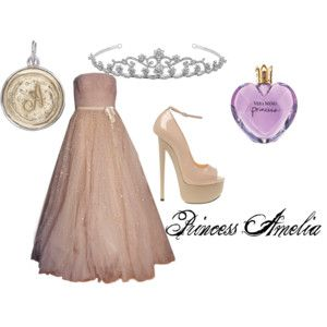 Princess Amelia from The Princess Diaries by Meg Cabot