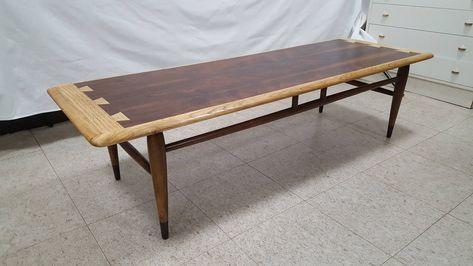 Wondrous Vintage Mid Century Modern Lane Acclaim Coffee Table Beatyapartments Chair Design Images Beatyapartmentscom