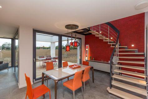 Maison Temoin De Convivium Par Innov Habitat Escalier En Bois Salon Maison Temoin Maison Habitat