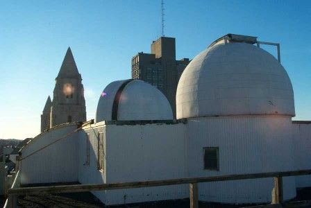 Visit the Judson B. Coit Observatory at Boston University  The Public Open Night at the Observatory is held clear Wednesday nights from 8:30 – 9:30pm. Call 617-353-2630 for the status.  725 Commonwealth Ave. in Boston, right above the Astronomy Department. The stairwell to the Observatory is on the fifth floor right next to room 520.