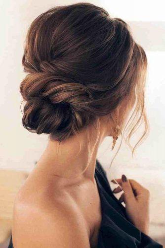 Classical Wedding Hairstyles Swept Textured Bridal Updo Tonyastylist Via Instagram Classic Wedding Hair Updos For Medium Length Hair Wedding Hair Inspiration