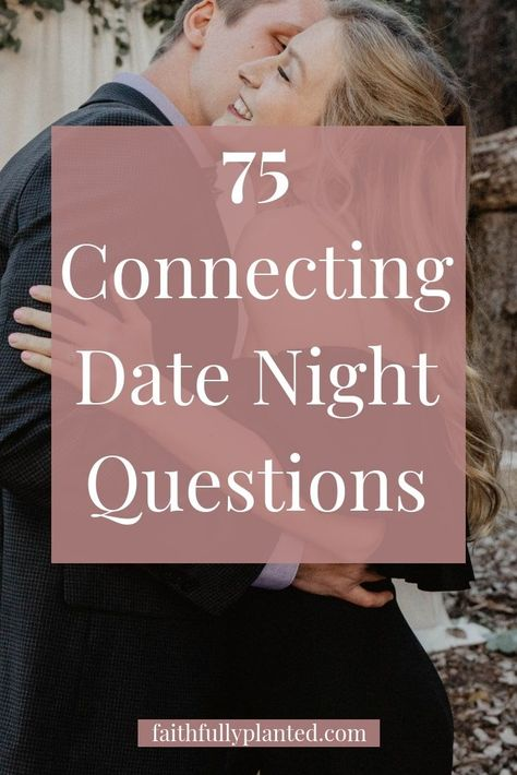Do you want to create connection, intimacy, and laughter in your date nights? It can be hard to cultivate connection when you're doing everyday life with your spouse, but it doesn't have to be that way! You can intentionally have deep conversations using these my list date night questions for couples! Click here to grab them!