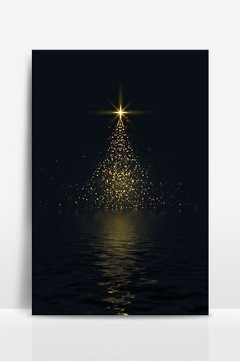 Winter Christmas Black Gold Tree Background Backgrounds Psd Free Download Pikbest Christmas Tree Background Christmas Tree Lighting Gold Light