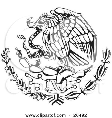 Mexican Eagle Coloring Pages In 2020 Mexican Eagle Mexican Flags Mexican Flag Drawing