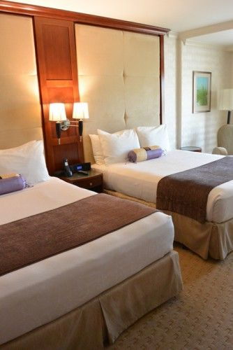 Two Queen Size Beds At The Viana Hotel And Spa Home Decor Bed