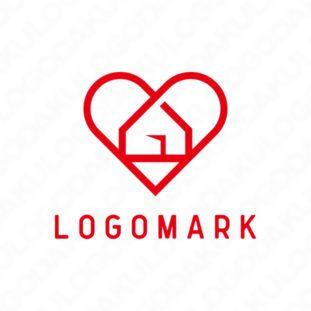 ハートフル ハウスのロゴ 2020 ロゴ ロゴマーク デザイン