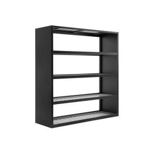 Wall Mountable Garage Shelving Garage Storage The Home Depot In 2020 Wall Mount Rack Steel Wall Newage Products