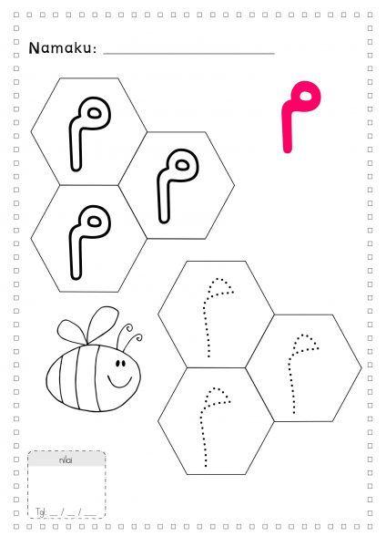 Mewarnai 28 Huruf Hijaiyyah Lk Preschool Activities Alphabet