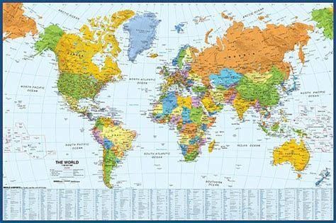 Images World Map Wallpaper Detailed World Map World Political Map