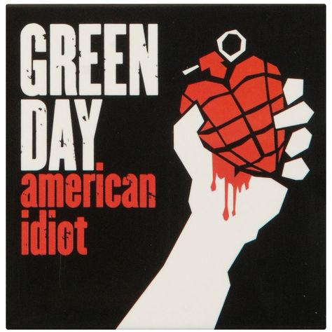 Green Day American Idiot Music Album Art Silk Cloth Poster Home Wall Decor Iconic Album Covers, Greatest Album Covers, Cool Album Covers, Music Album Covers, Music Albums, Box Covers, Green Day Poster, Green Day Albums, Green Day American Idiot
