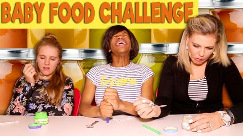 Baby Food Challenge Fouriefamcam Family Games