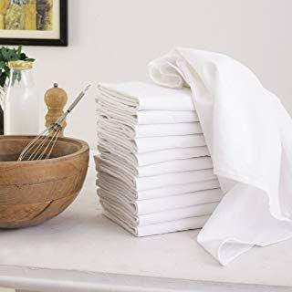 Amazon Com Aunti Em S Kitchen Flour Sack Dish Towels Set Of 13