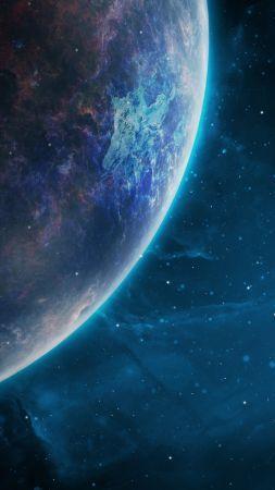 Space Galaxy Planet 4k Vertical In 2019 Galaxy