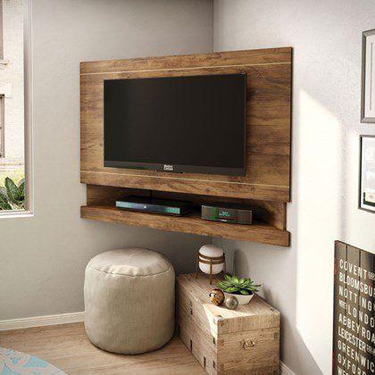 A Casa Da Sheila Painel Para Tv Como Fazer A Melhor Decoracao Com Eles Family Room Decorating Home Decor Tv Decor