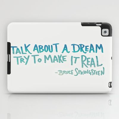 TALK ABOUT A DREAM iPad Case